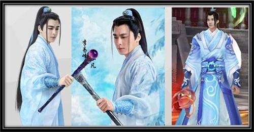 《青云志》李易峰真人与游戏形象对比