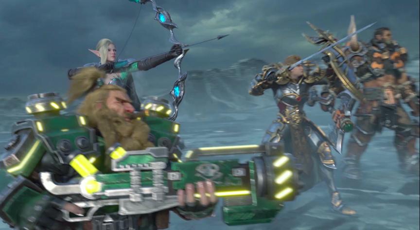 英雄现在集结《万王之王3D》今日全平台正式上线!