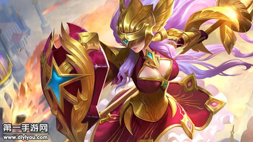 王者荣耀新英雄雅典娜8月2日上线