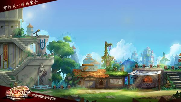 勇闯地下城 手游《地下城与冒险》12月30日开启安卓测试