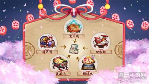 阴阳师新年祭活动式神开店狂领美食主题结界卡