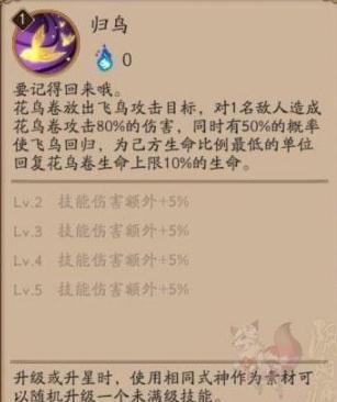 阴阳师SSR花鸟卷技能分析及御魂搭配指南