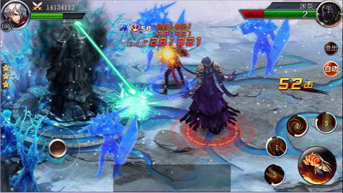 冰火对决 手游《幻城》新资料片全面上线