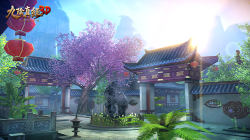 《九阴真经3D》一周年资料片即将来袭 全新家园玩法曝光