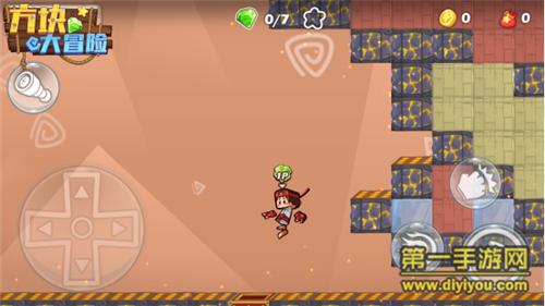 《方块大冒险》评测:化身机智小方块人勇敢闯关