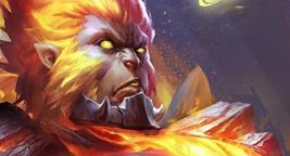 王者荣耀猴子地狱火新皮肤