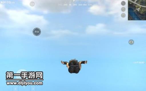 荒野行动最佳跳伞时机分析 标记帮你拿排名