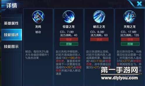 当前版本团战后排最强战士 S10赵云出装和团战技巧解析