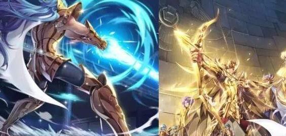 圣斗士星矢天马座双子座降临王者 或联动后羿达摩