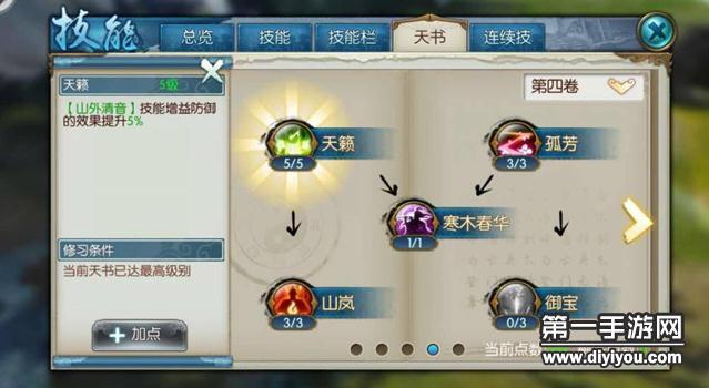 诛仙手游云梦最新技能加点方案 云梦技能详细解析攻略