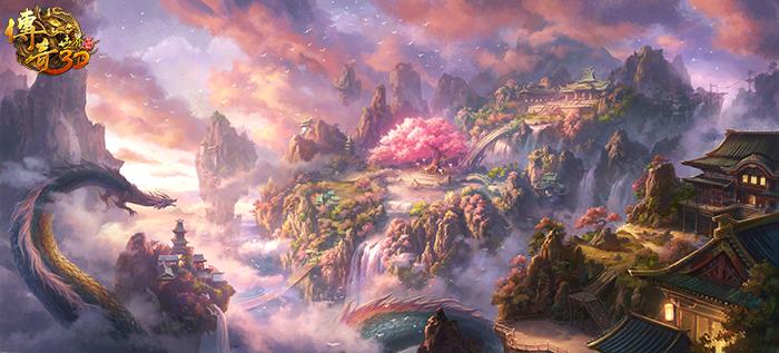 十五年故地重游 《传奇世界3D》重温属于落霞岛的记忆