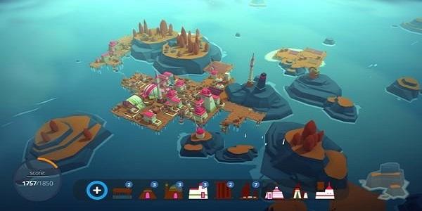 可以开发岛屿的游戏