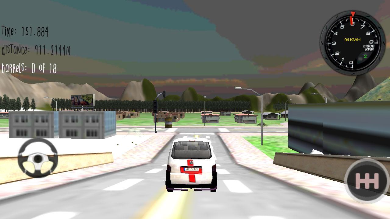 救护车模拟驾驶3d