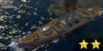 日本三笠号战列舰
