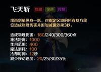 英魂之刃口袋版绯雨剑星英雄技能详细介绍