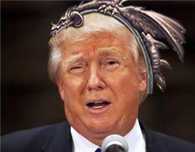 当美国总统遇见炉石 恶搞川普卡牌