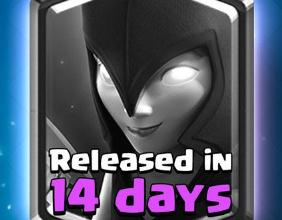 皇室战争暗夜女巫6月1日解锁确认 14天倒计时