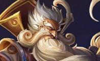 王者荣耀半肉六神装老夫子统治上单 S10赛季老夫子还是很强