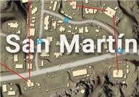 绝地求生全军出击圣马丁物资一览 沙漠地图圣马丁