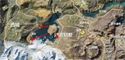 荒野行动湖心岛生存策略 隔海相望湖湾别墅