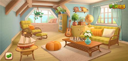 花园也出室内装修《梦幻花园》温馨阁楼来啦
