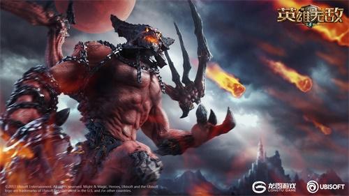 血月之蚀 恶魔压境 《魔法门之英雄无敌 王朝》