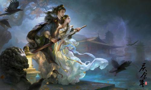 知名画师亲笔描绘《庆余年》!走进黄光剑眼中