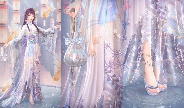 """《闪耀暖暖》非凡甜美套装""""江畔花火""""来袭 与暖暖共赏璀璨烟火"""