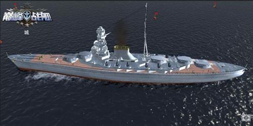 """《巅峰战舰》强大战列巡洋舰""""天城""""号,改建开放在即!"""