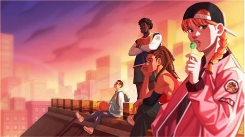原味潮篮,全新的体验《潮人篮球2》强势来袭!