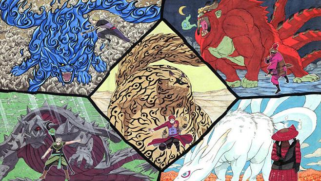 终极怪兽来袭 《忍者降临》尾兽系统曝光