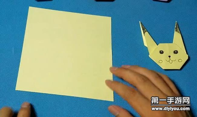 皮卡丘折纸技巧