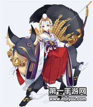 阴阳师手游SSR新式神御馔津传记欣赏