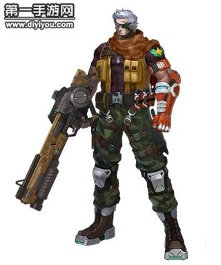 我是特种兵 枪火战神兵人9527陆战队皮肤