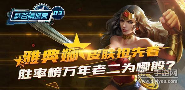 王者荣耀雅典娜新皮肤介绍视频 神奇女侠自带专属特效