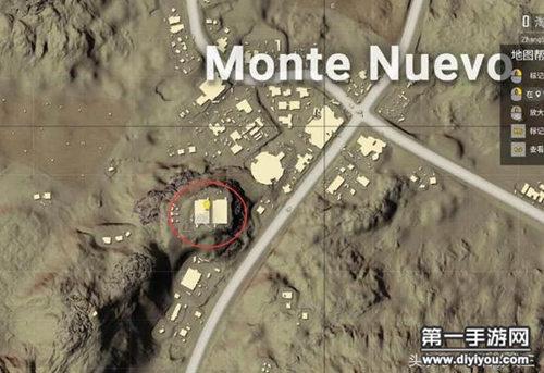 绝地求生刺激战场沙漠新山城资源位置一览