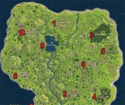 堡垒之夜手游哪里资源多 地图最富位置盘点
