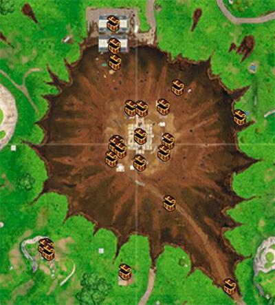 堡垒之夜手游废弃草地资源介绍 落点及战斗技巧