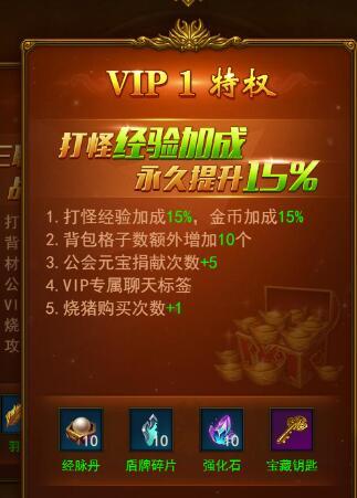 屠龙破晓VIP购买推荐 价格特权一览