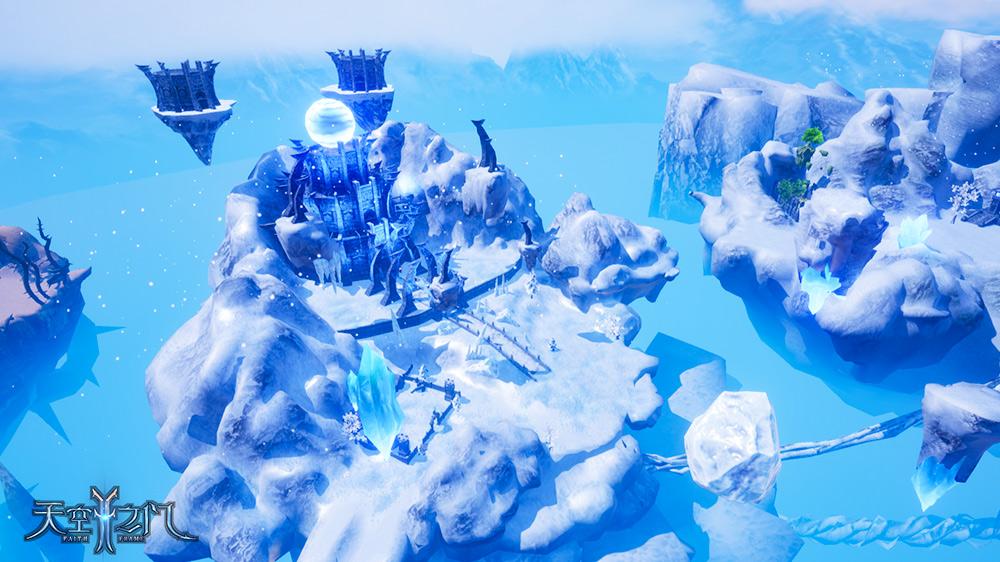 虚幻4引擎技术手游《天空之门》打造近于真实的魔幻世界
