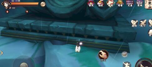 侍魂胧月传说巨型佛像挖宝技巧 在登能山右上角
