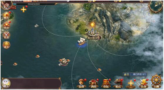 《传说大陆》评测:成为大航海时代最强海上霸主