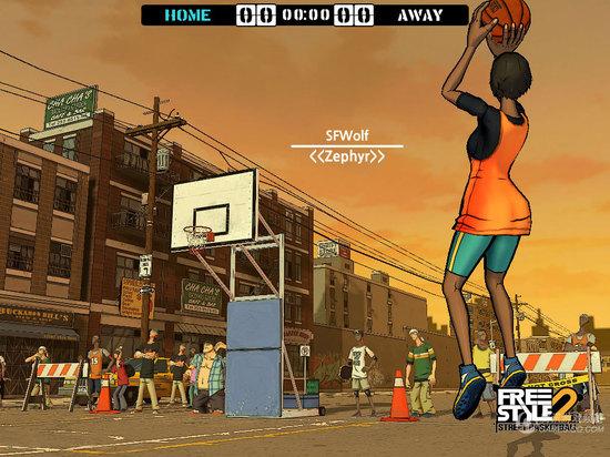 真人实时篮球竞技手游推荐 热血街篮