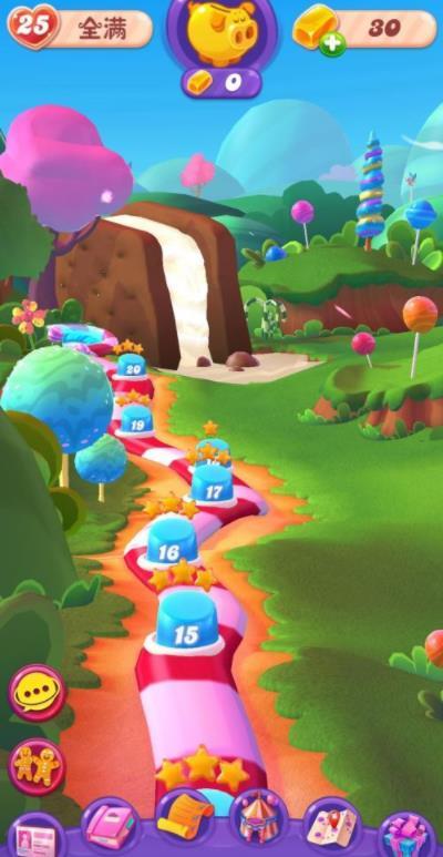 成长计划系统来袭《糖果缤纷乐》新版本曝光