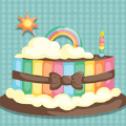 吃吧大蛋糕
