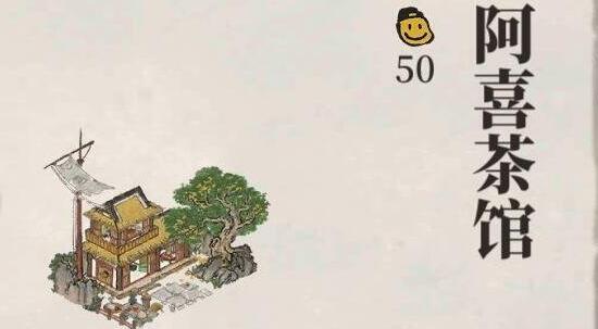 江南百景图阿喜茶馆作用及背景一览
