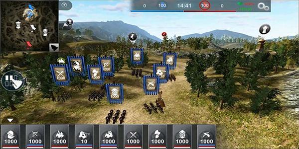 策略对战两边出兵对抗的游戏合集