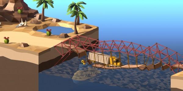 搭建桥梁的游戏