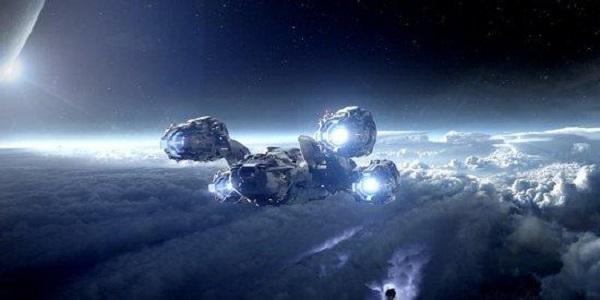 宇宙星系战斗的科幻游戏