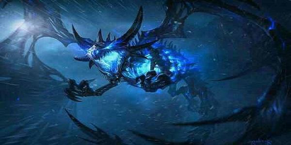 有冰霜巨龙的传奇手游